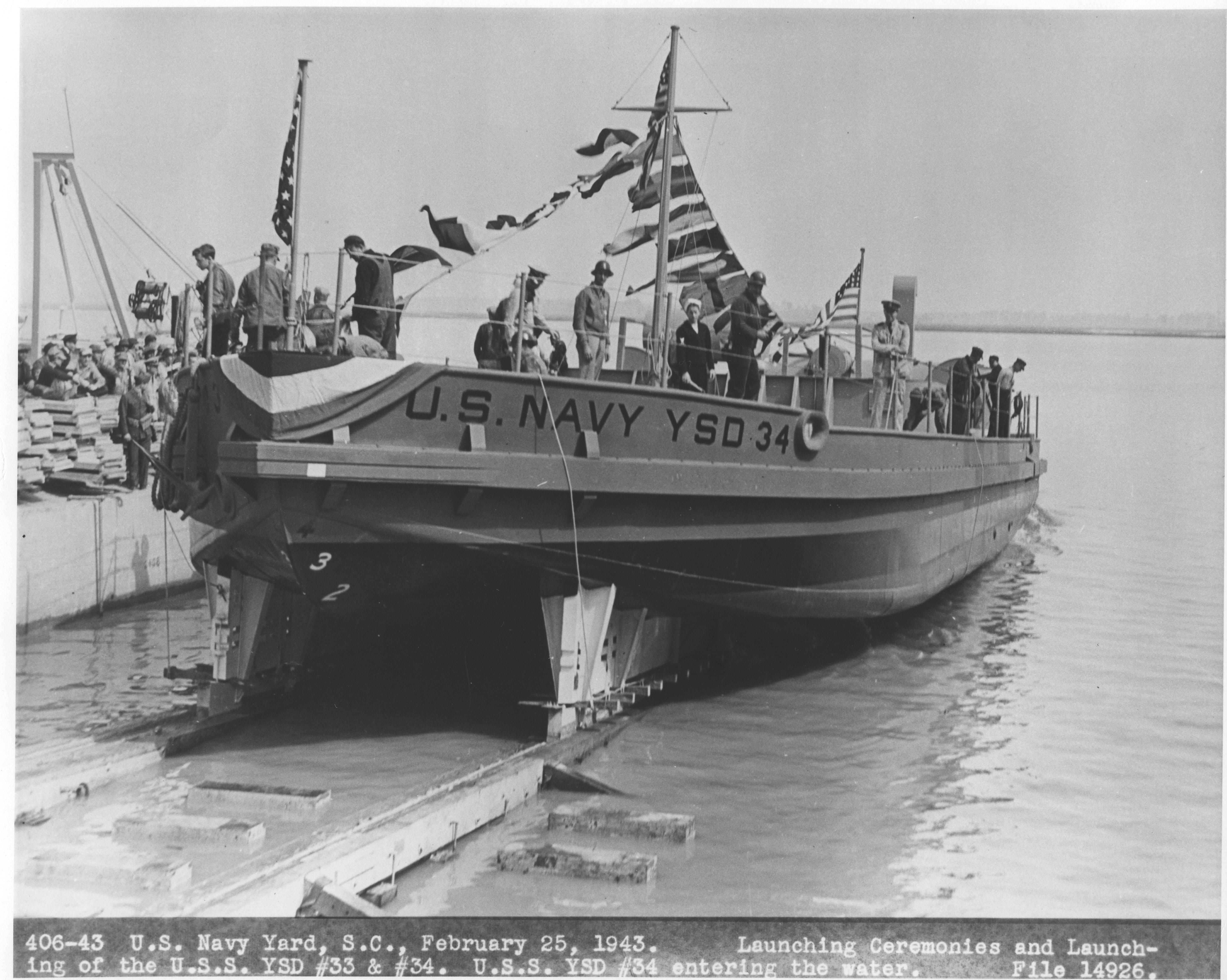 USS YSD #34