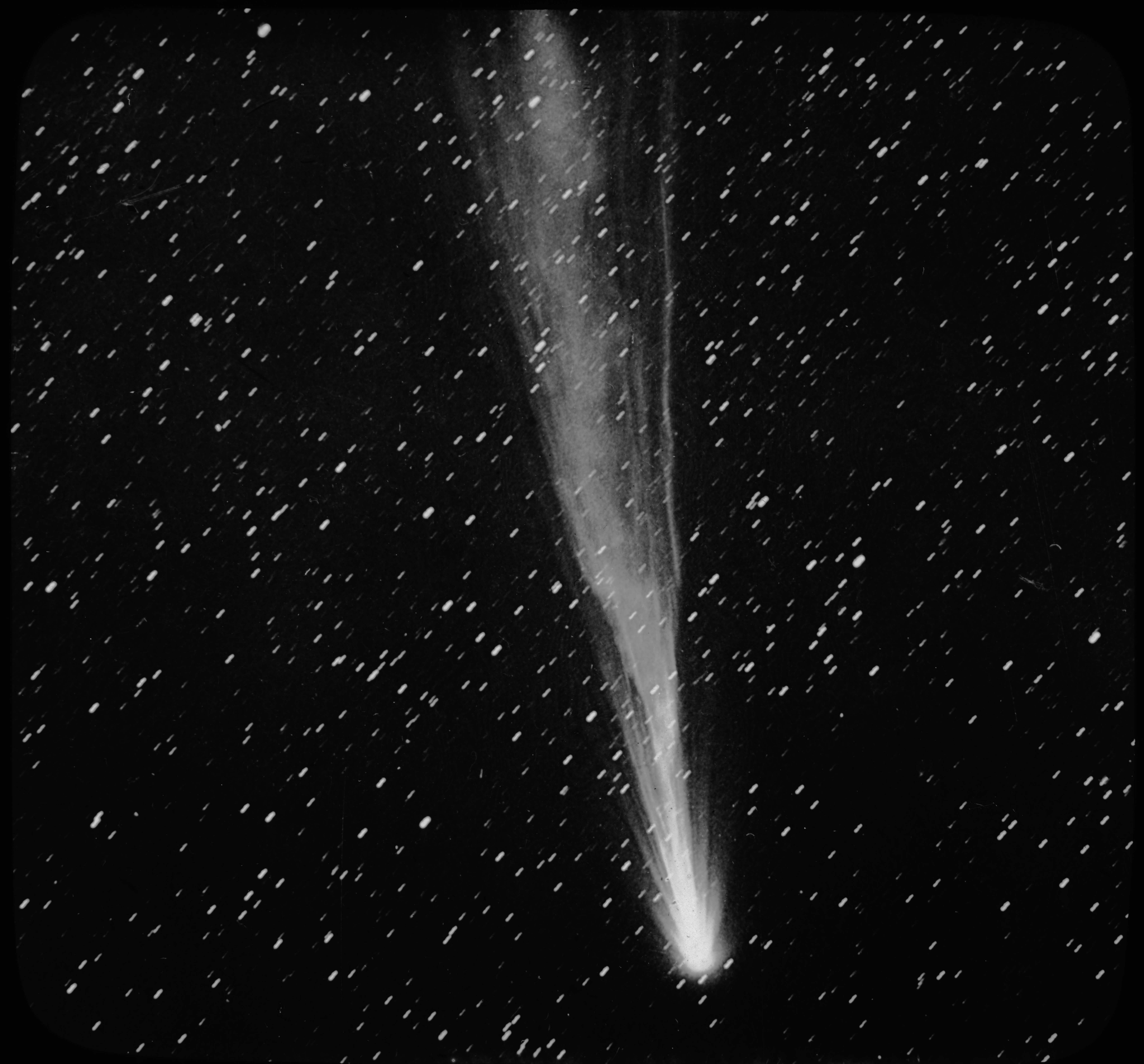 Morehouse's Comet.  Copyright Yerkes Observatory.