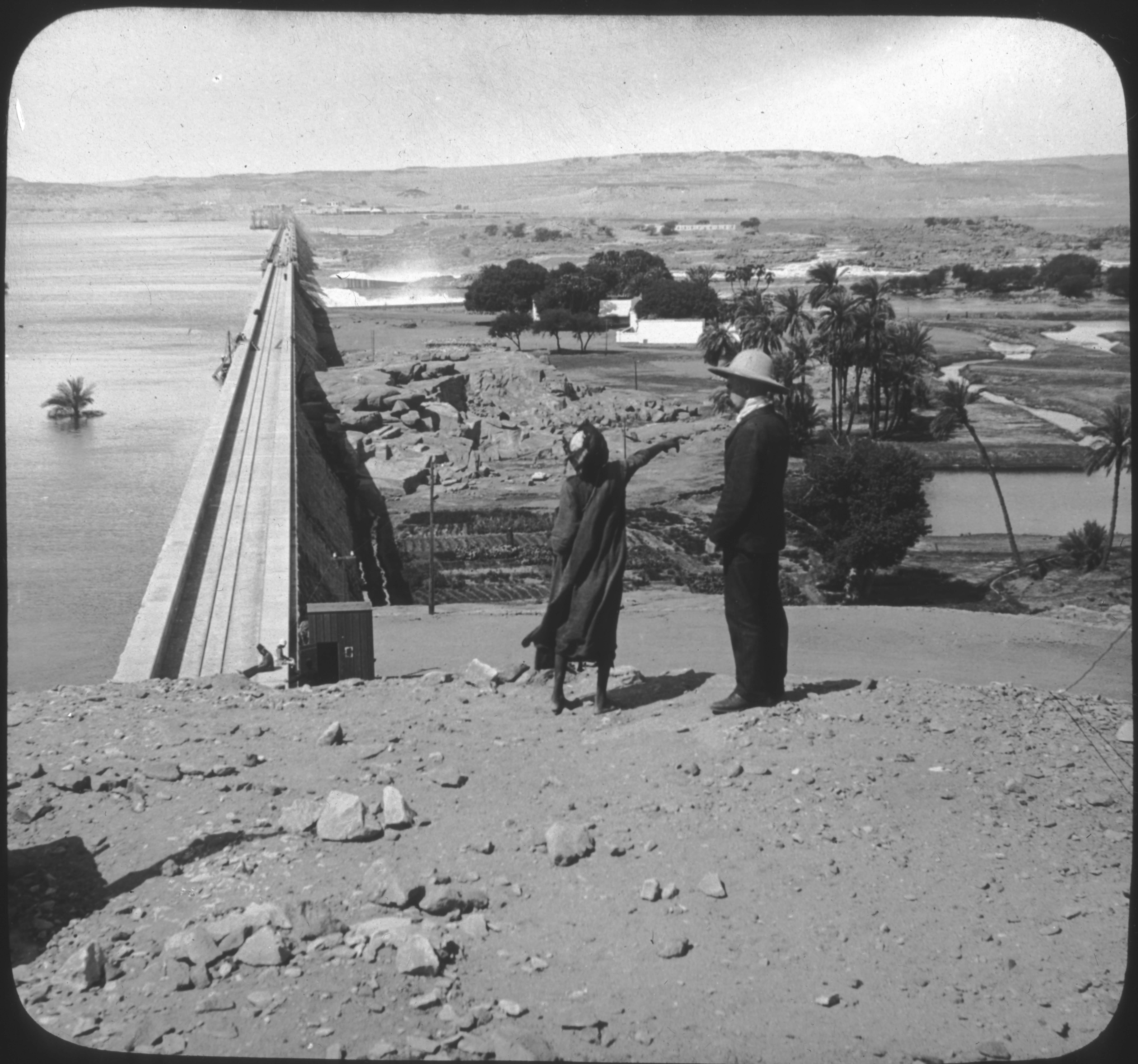 The Great Dam, Assuan, Egypt.