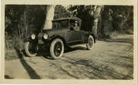 Herbert U. Seabrook, Sr. sitting in automobile