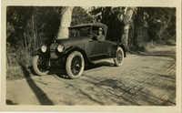 Herbert U. Seabrook, Sr. sitting in automobile