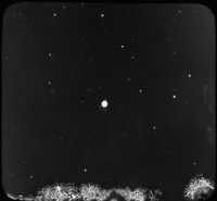 Planet Uranus and Two of Its Moons, Copyright Yerkes Observ.