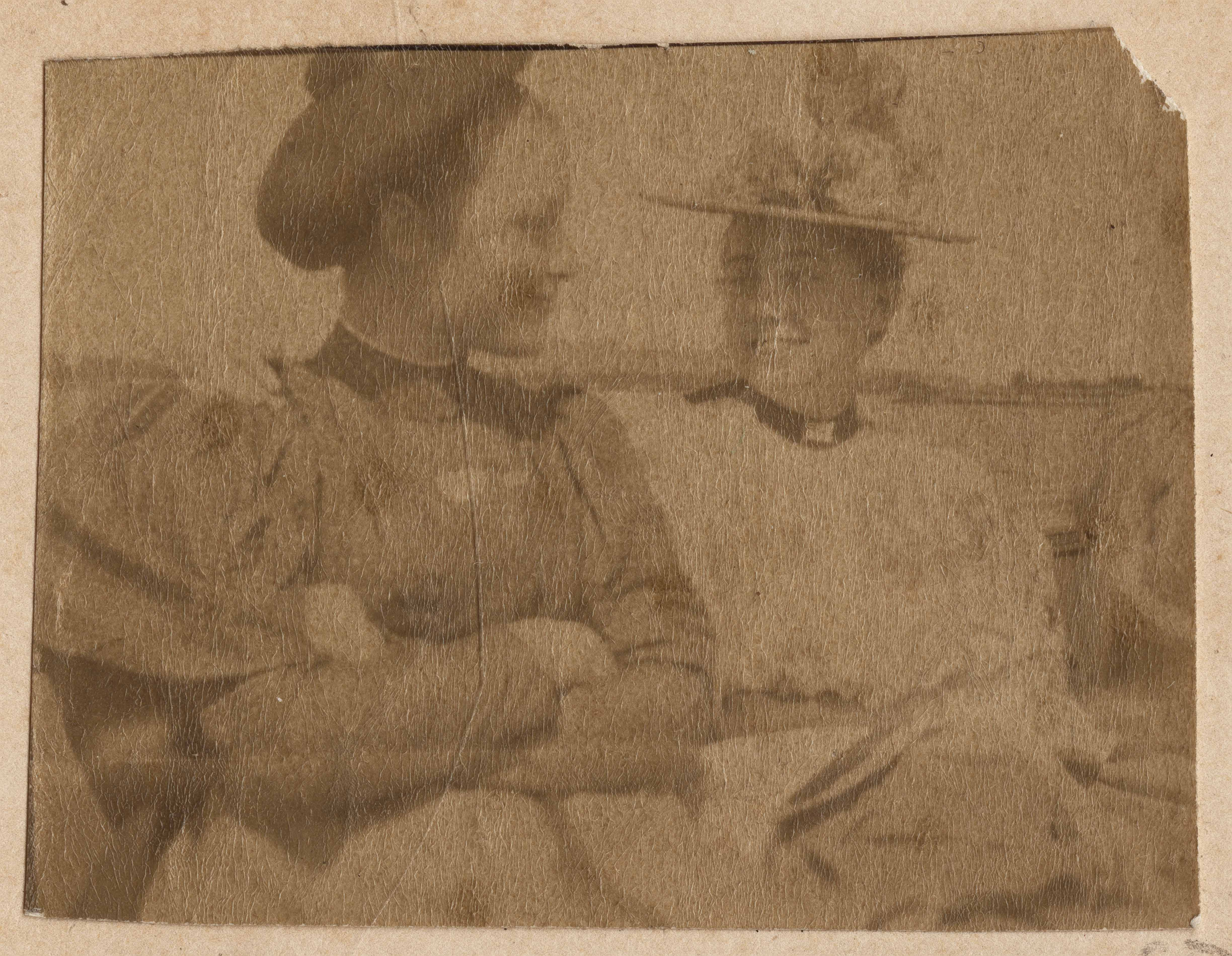 Two unidentified women smiling