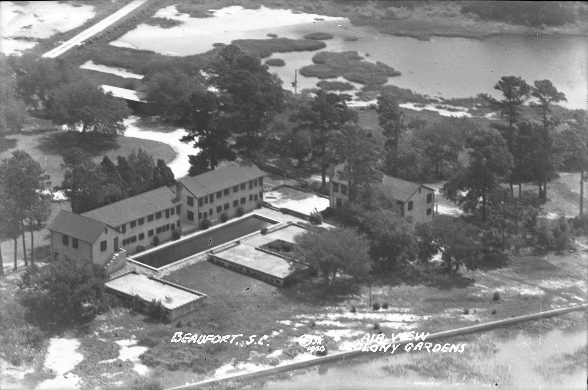 Colony Gardens Air View Beaufort, S.C.