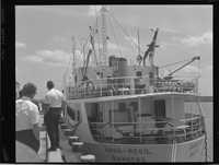 The Anna-Regil of Randers, Denmark visit of the Port of Port Royal
