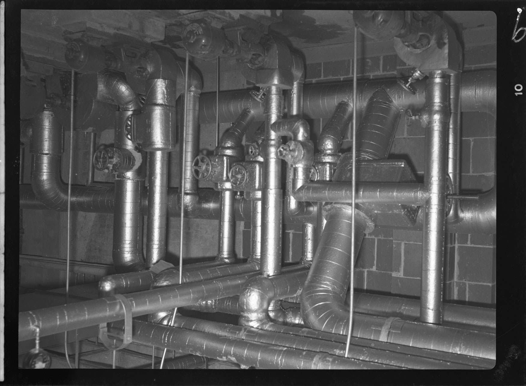 Pipes at Naval Hospital by Thurston & Sons, Norfolk, Va
