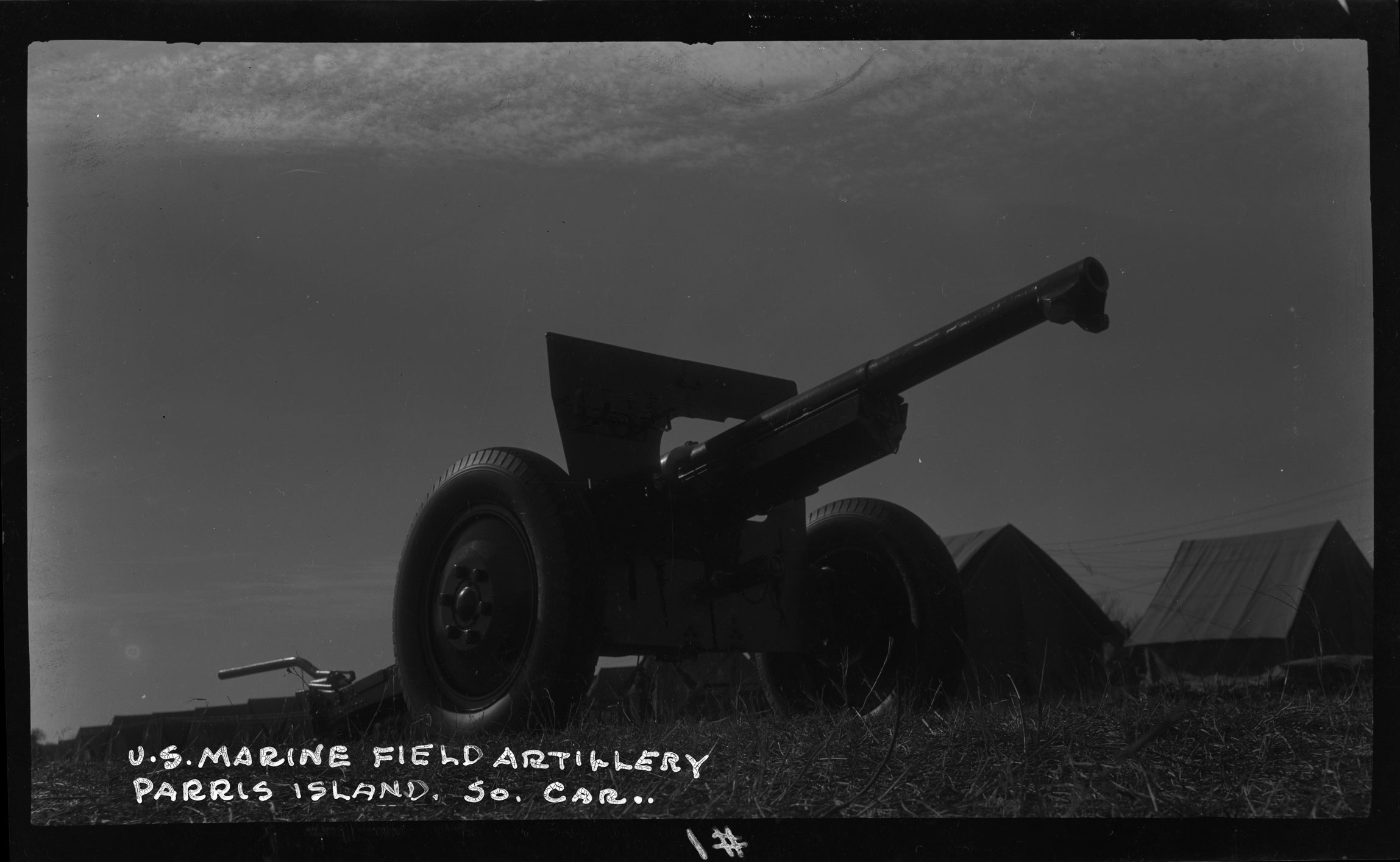 U.S. Marine Field Artillery, Parris Island So. Car.