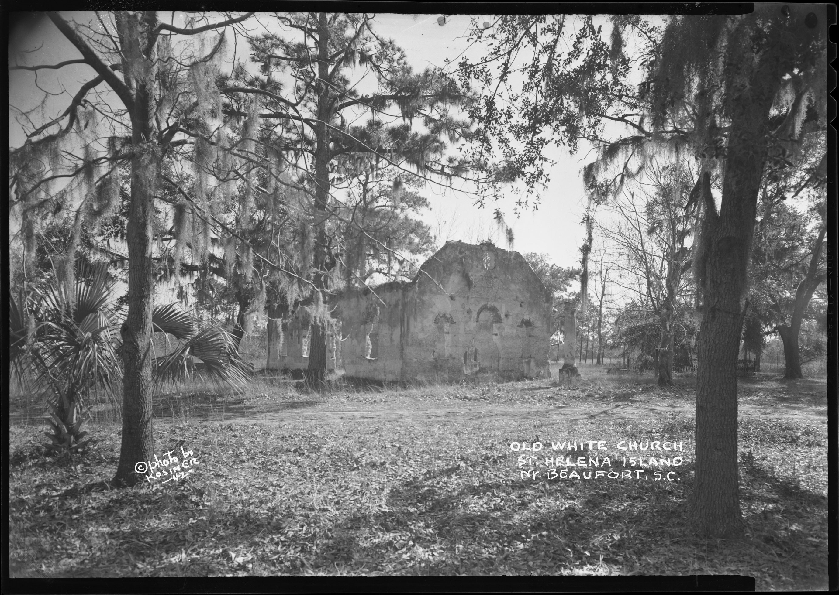Old White Church, St. Helena Island,Beaufort, S.C.
