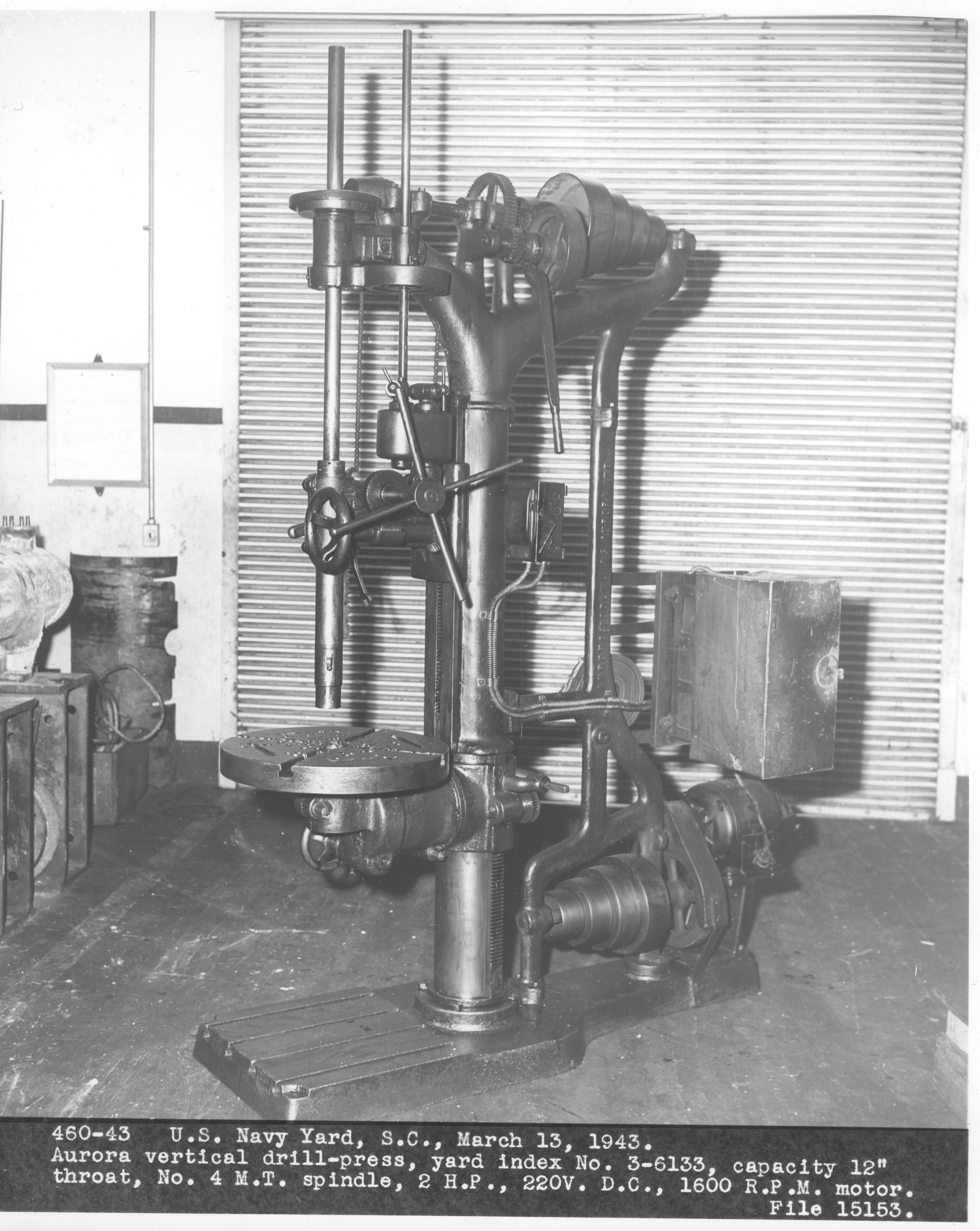Aurora vertical drill-press