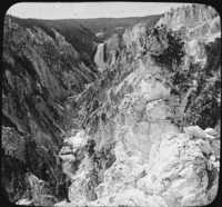 Grand Canyon of The Yellowstone National Park, Wyo.