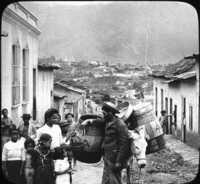 Delivering Bread, Caracas, Venezuela.