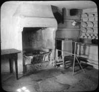 Room Where Burns Was Born, Ayr, Scotland.