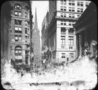 Wall Street, New York, N.Y.