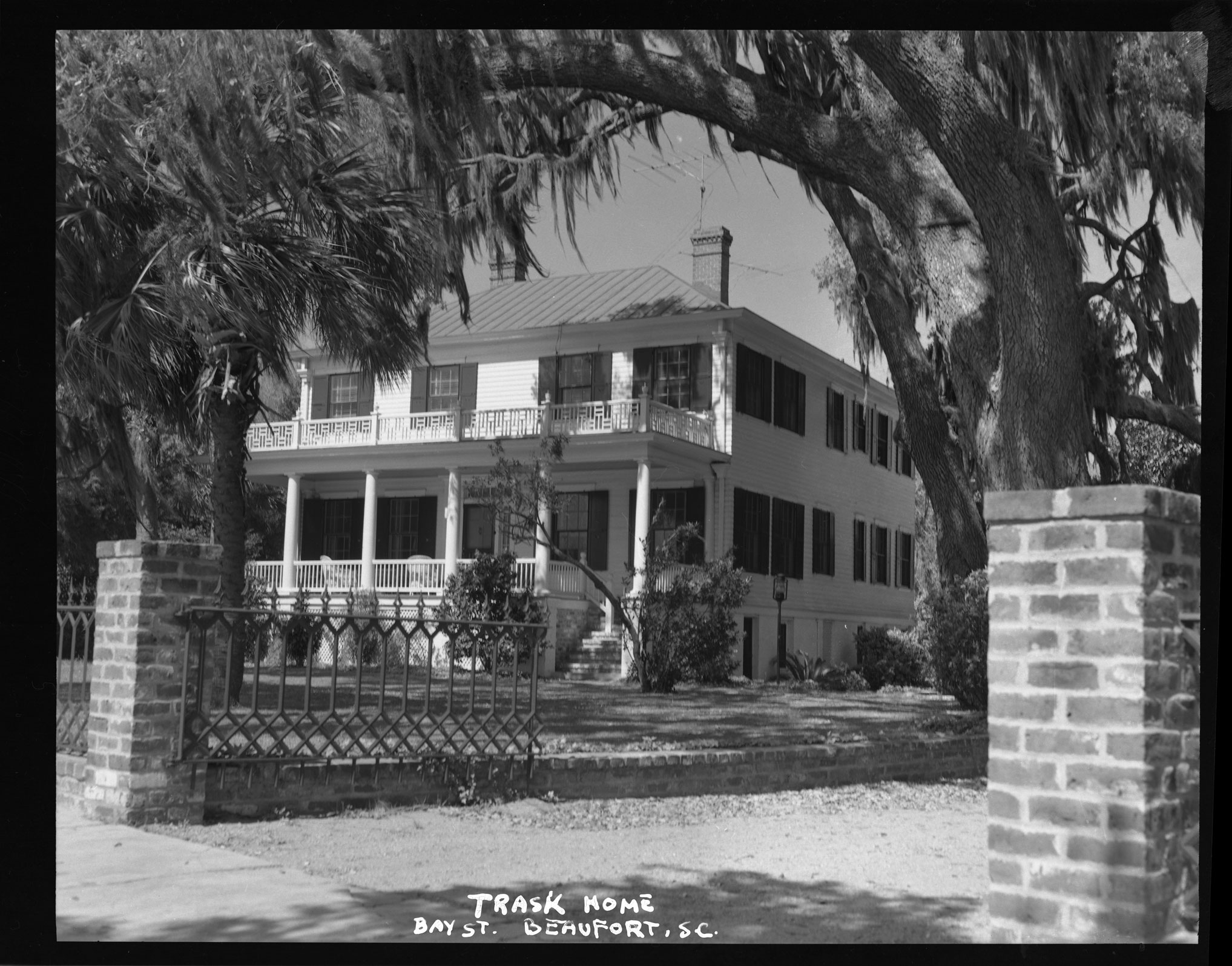 Trask Home, Bay St., Beaufort, SC