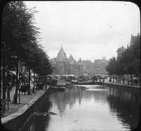 New Market and Canal, Amsterdam.