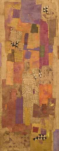 African Patchwork with Violet