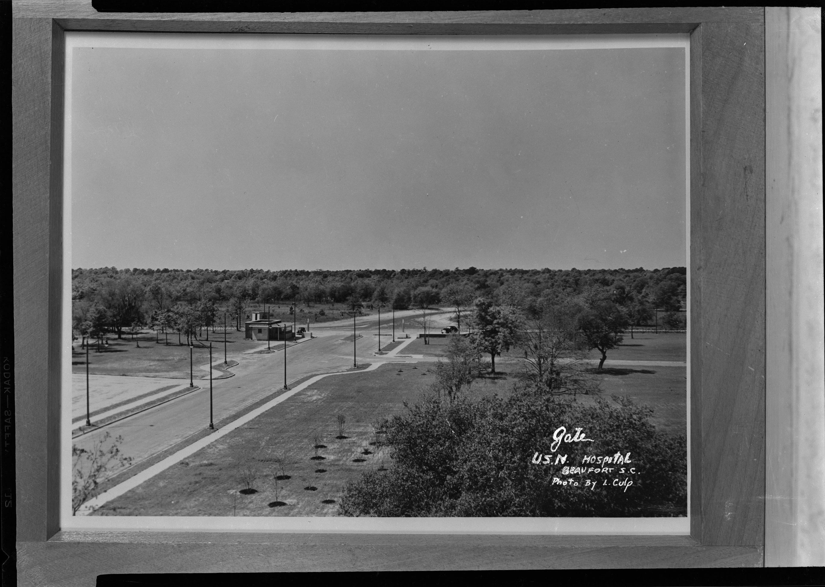 Gate, U.S.N. Hospital