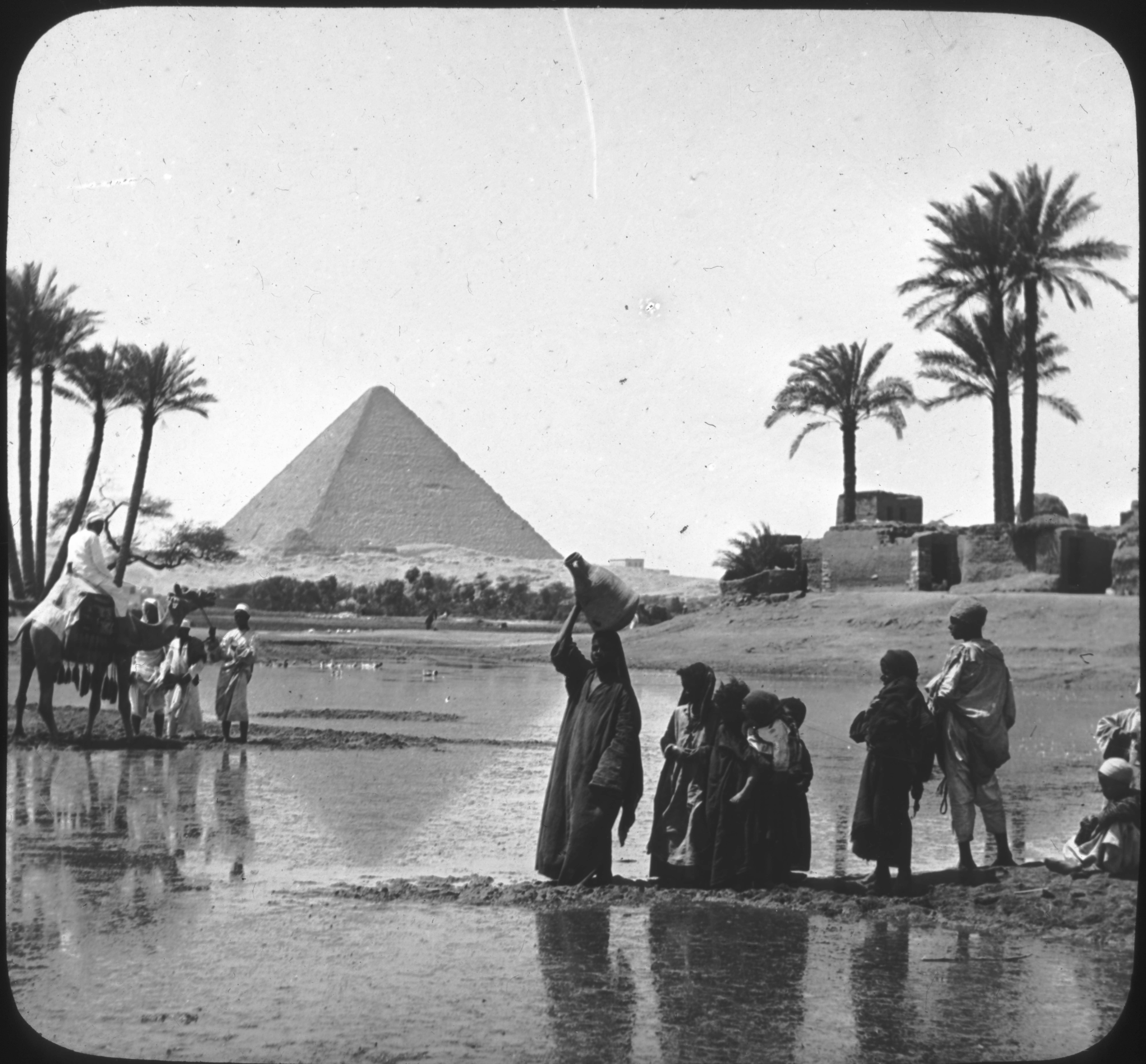 Inundation of the Nile, Egypt.