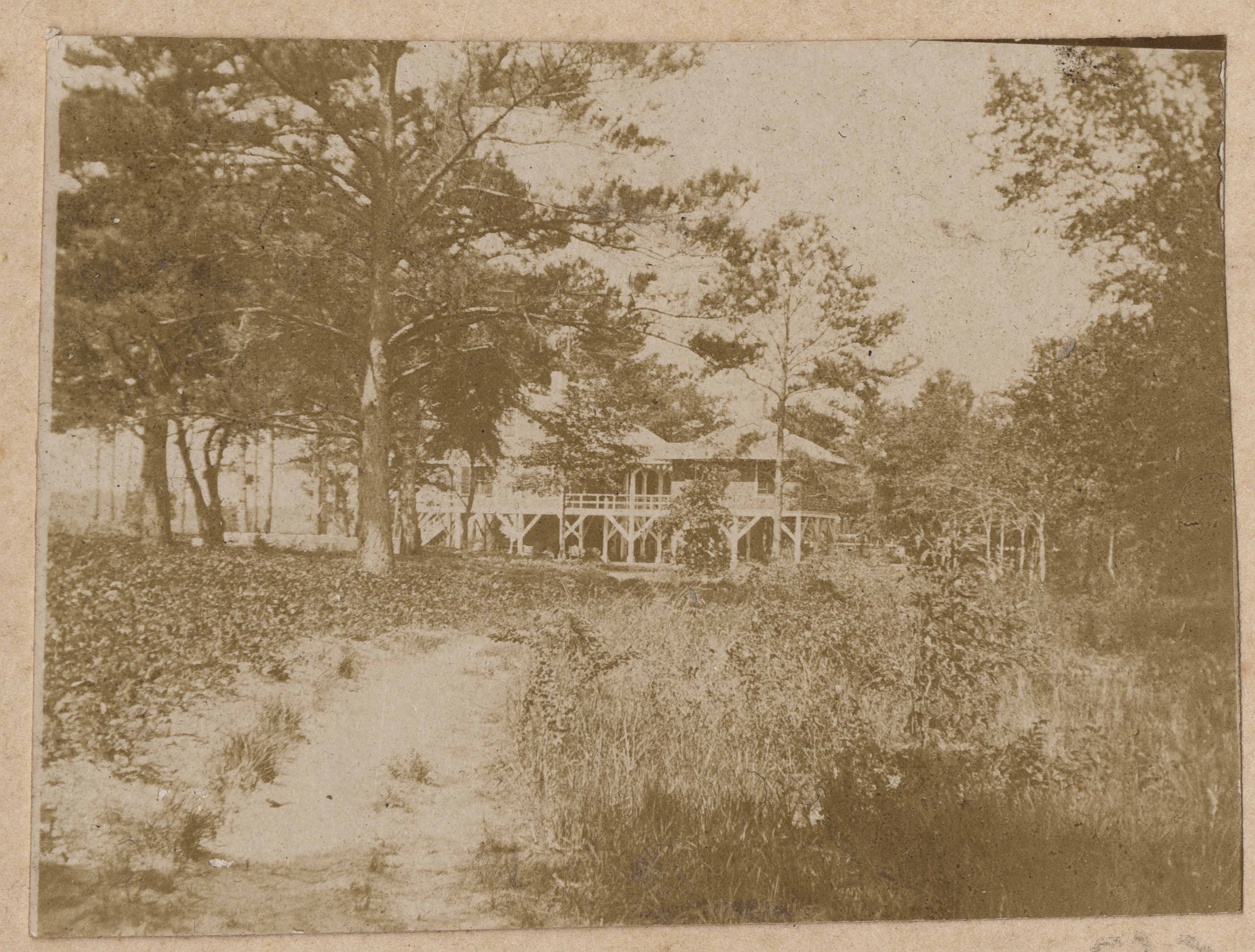 Yet another view of Main House at Halls Island