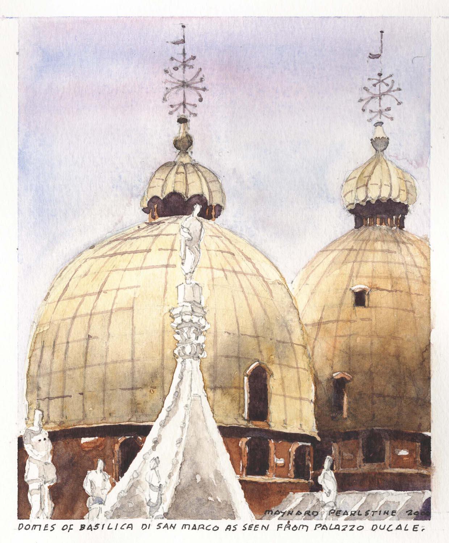 Domes of Basilica di San Marco