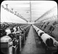 Carding Room, Cotton Mills, Orizaba, Mexico.