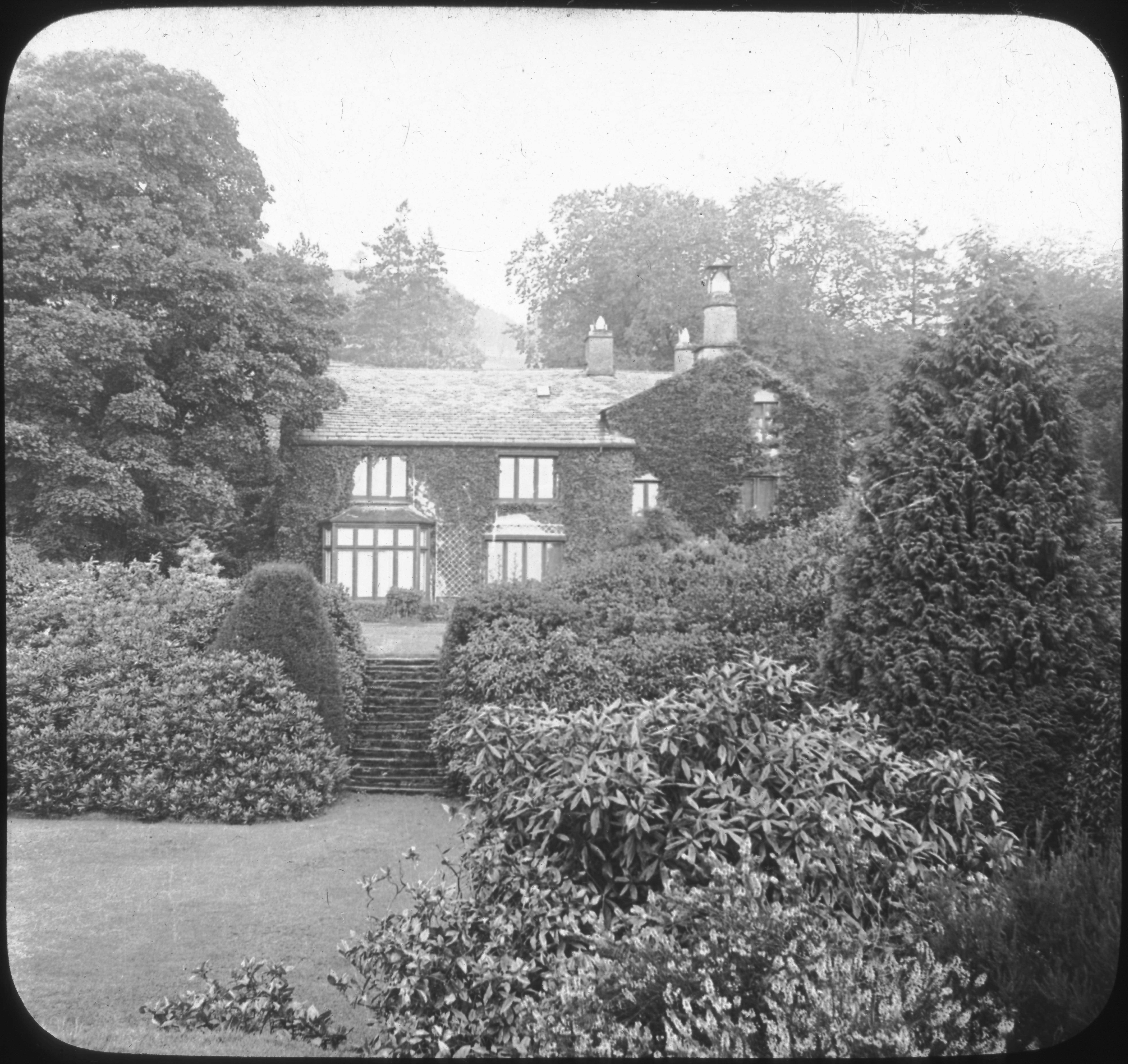 Wordsworth's Home, Rydal Mount, England.