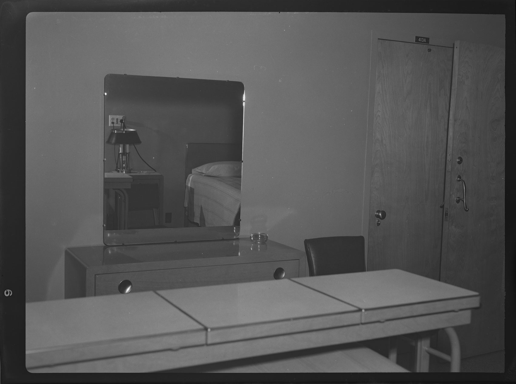 Double Patient Room in the U.S. Naval Hospital, interior view