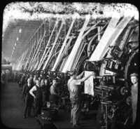 Printing Room of Cotton Mills, Lawrence, Mass.