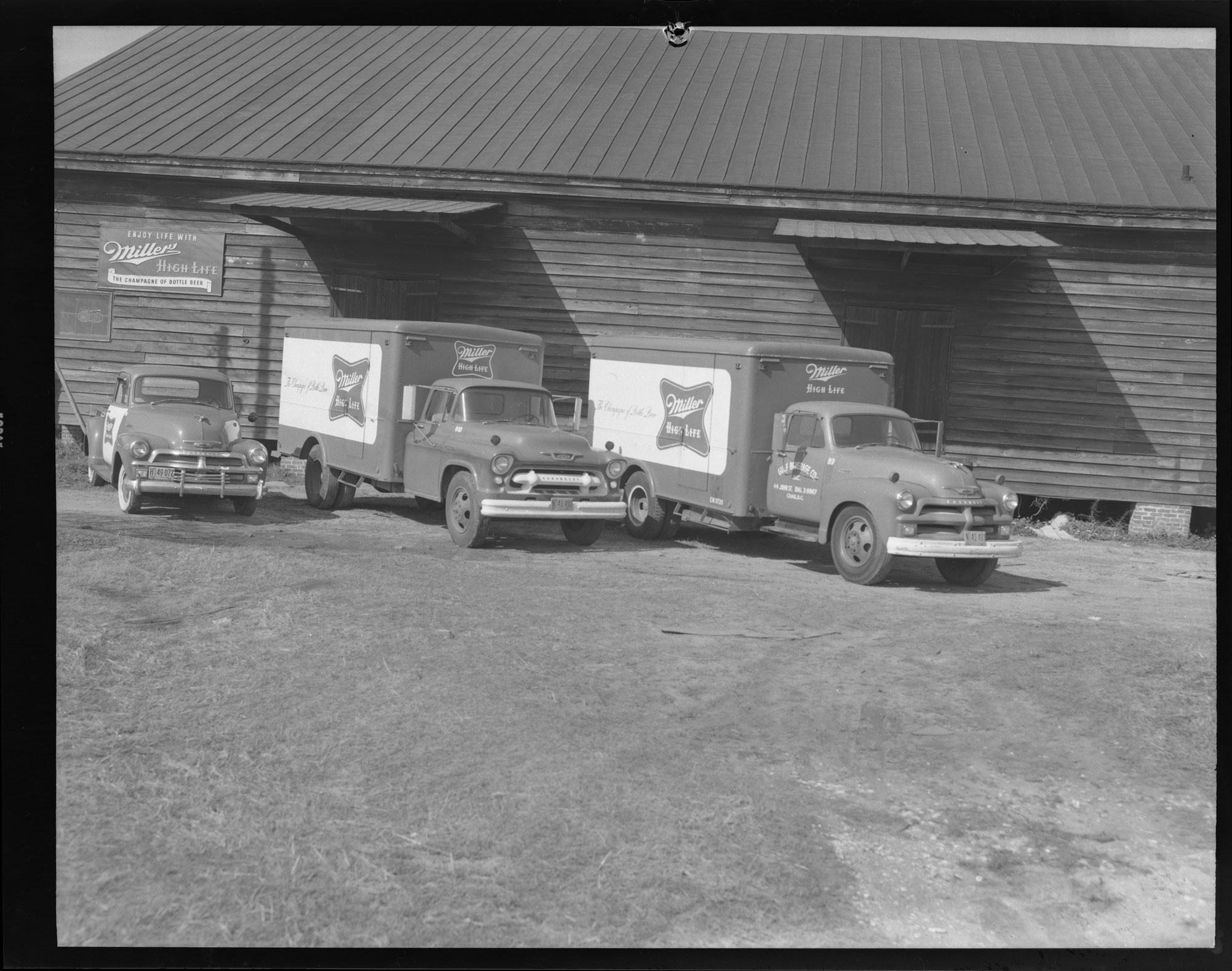 Miller High Life Beer Trucks