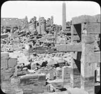 Ruins of Karnak, Egypt.