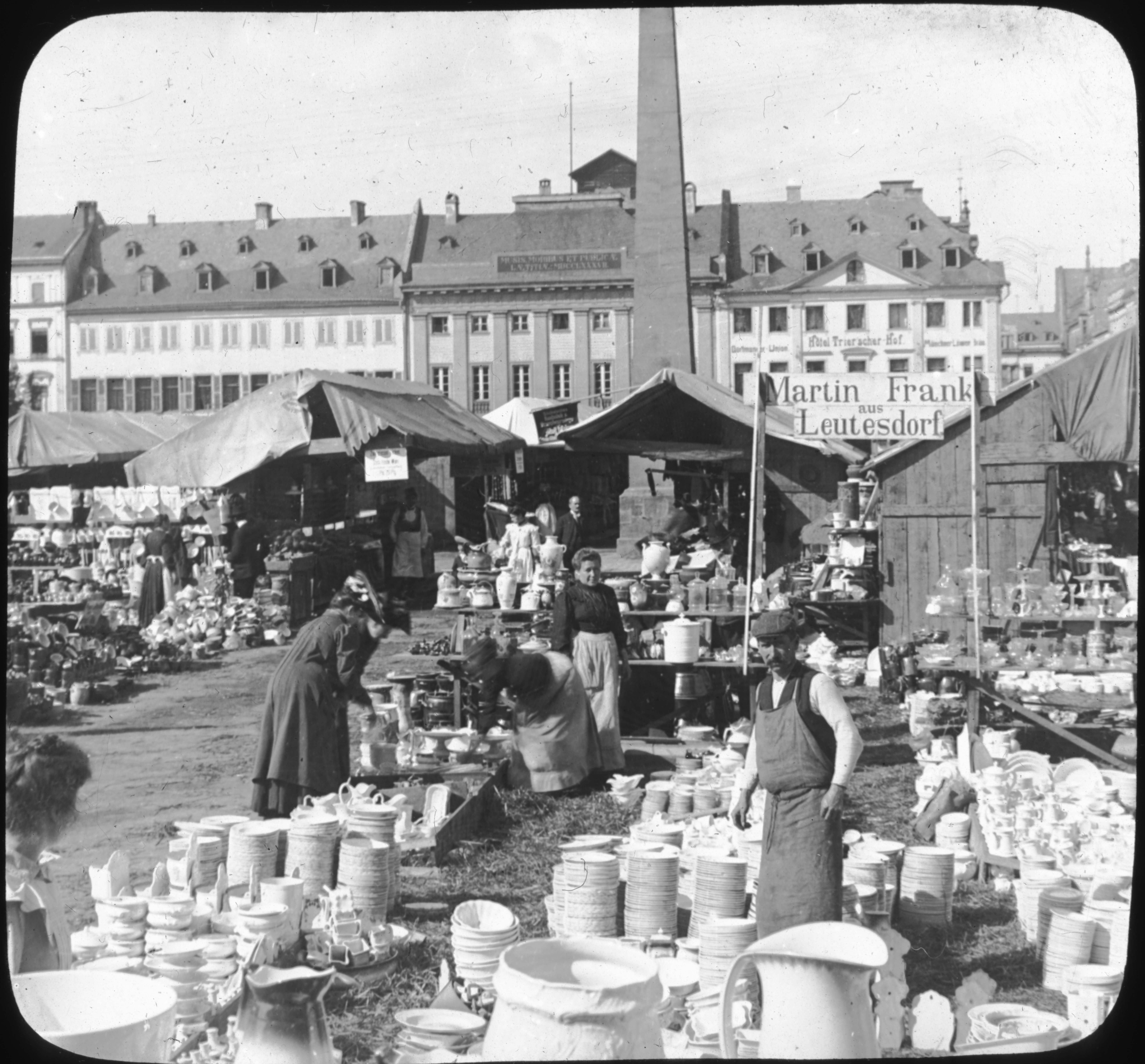 Open Air China Market, Koblenz, Germany.