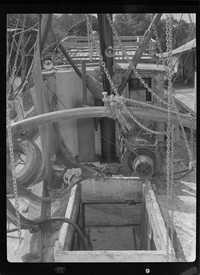 Deck of a Toomer Shrimpboat