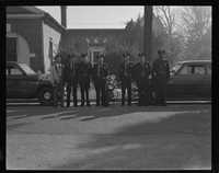 City of Beaufort Policemen with cars and motorcycle