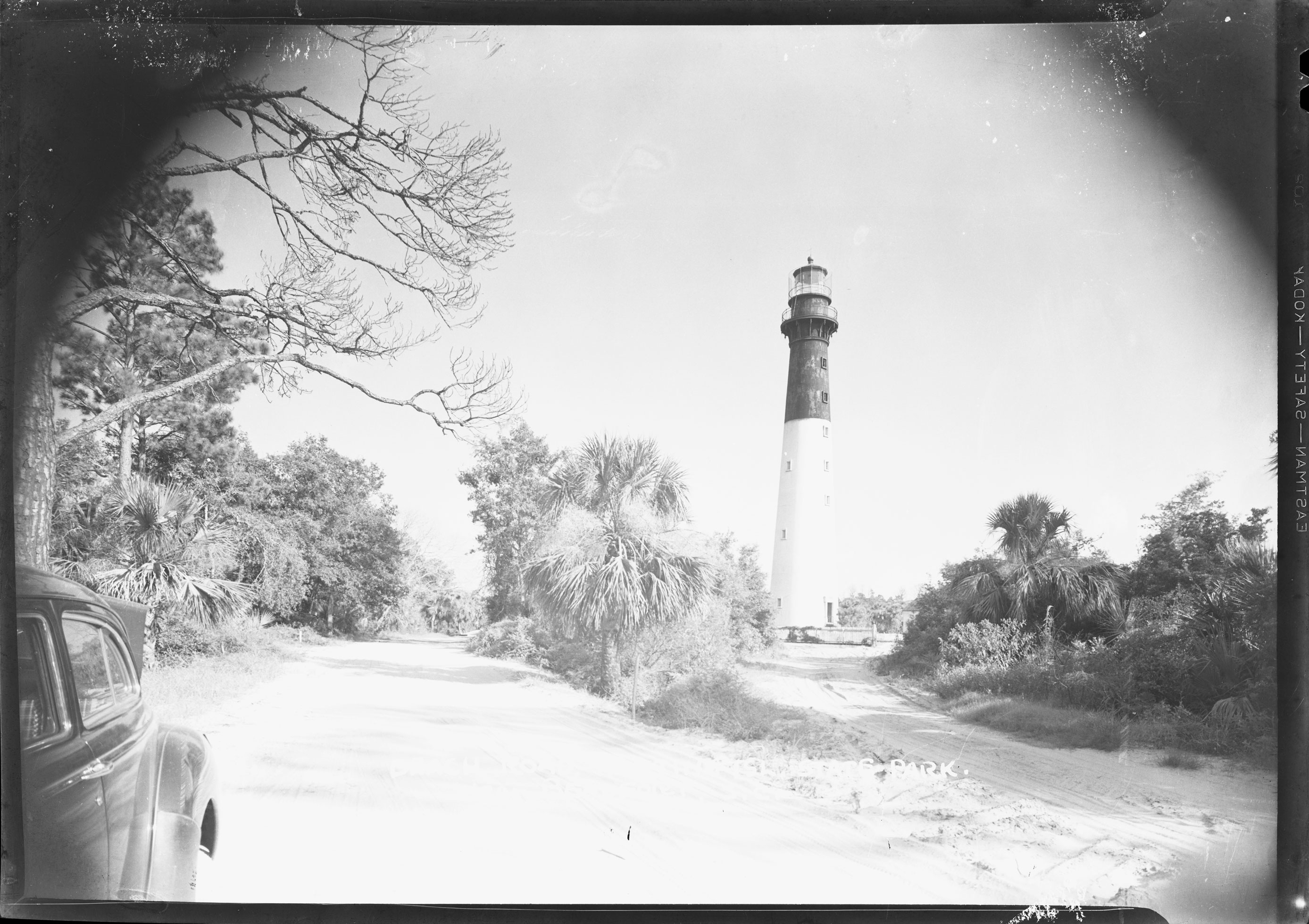Beach Road, Hunting Island State Park Near Beaufort, S.C.