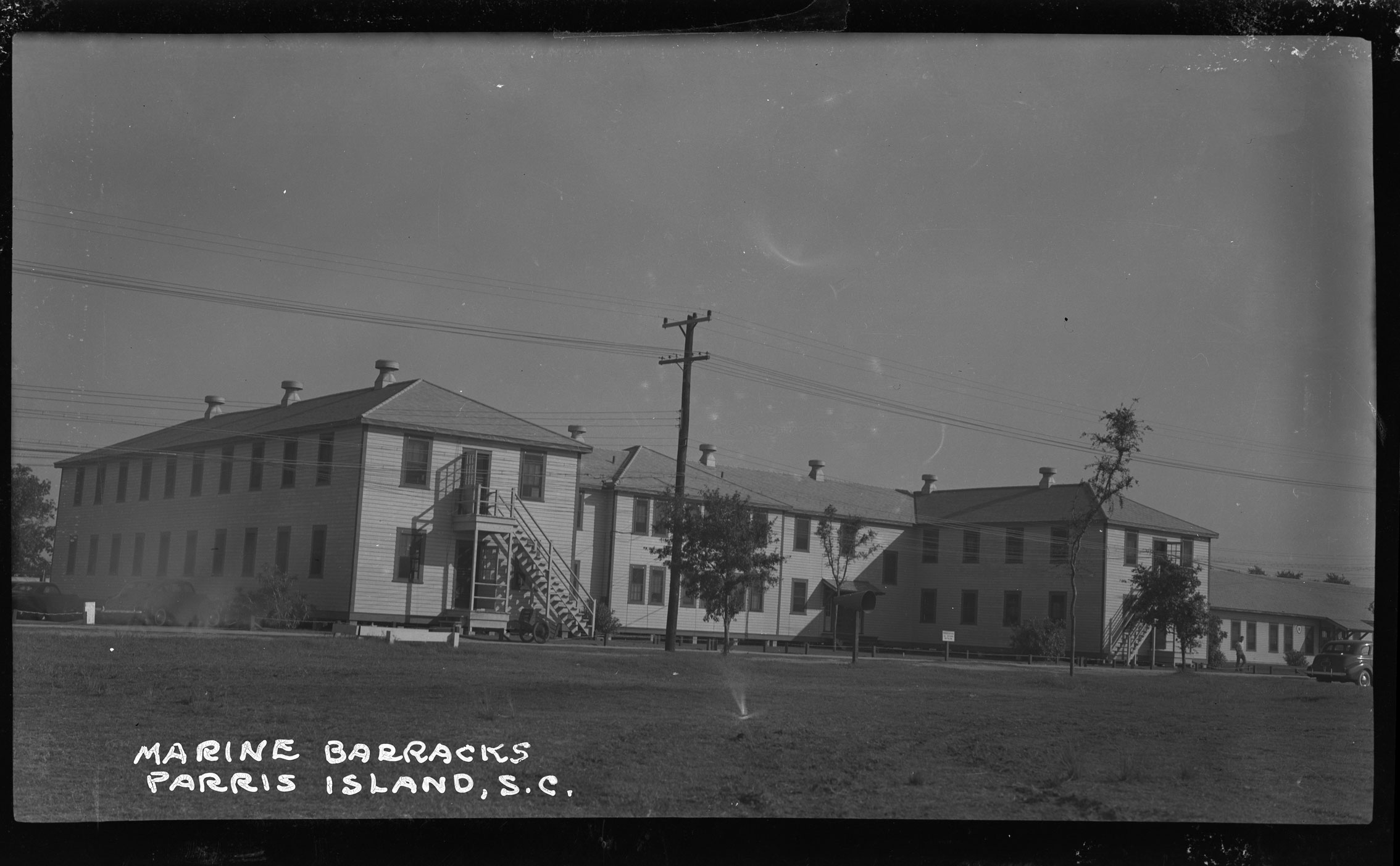 Marine Barracks Parris Island, S.C. back view