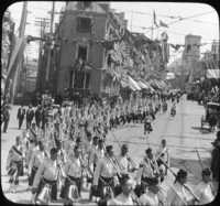 Fifth Royal Highlanders of Montreal, Quebec Tercentenary, July, 1908.