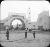 Gates in the Walls of Tunis, Africa.