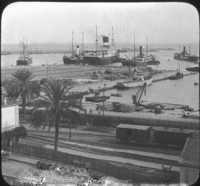 Harbor of Algiers, Algeria.