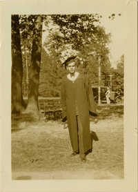 Graduation photograph of Frank A. DeCosta