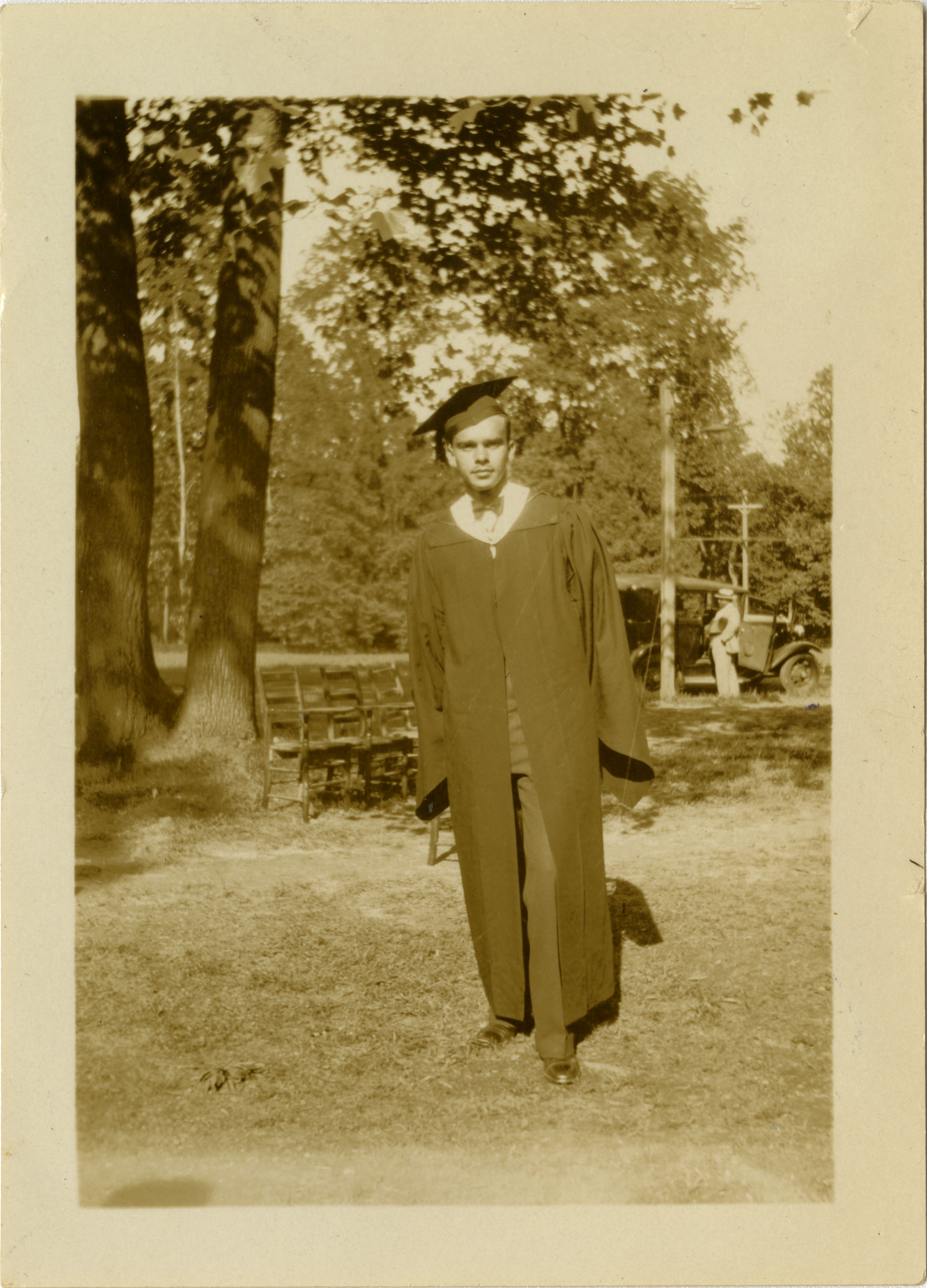 Graduation photograph of Frank A. DeCosta