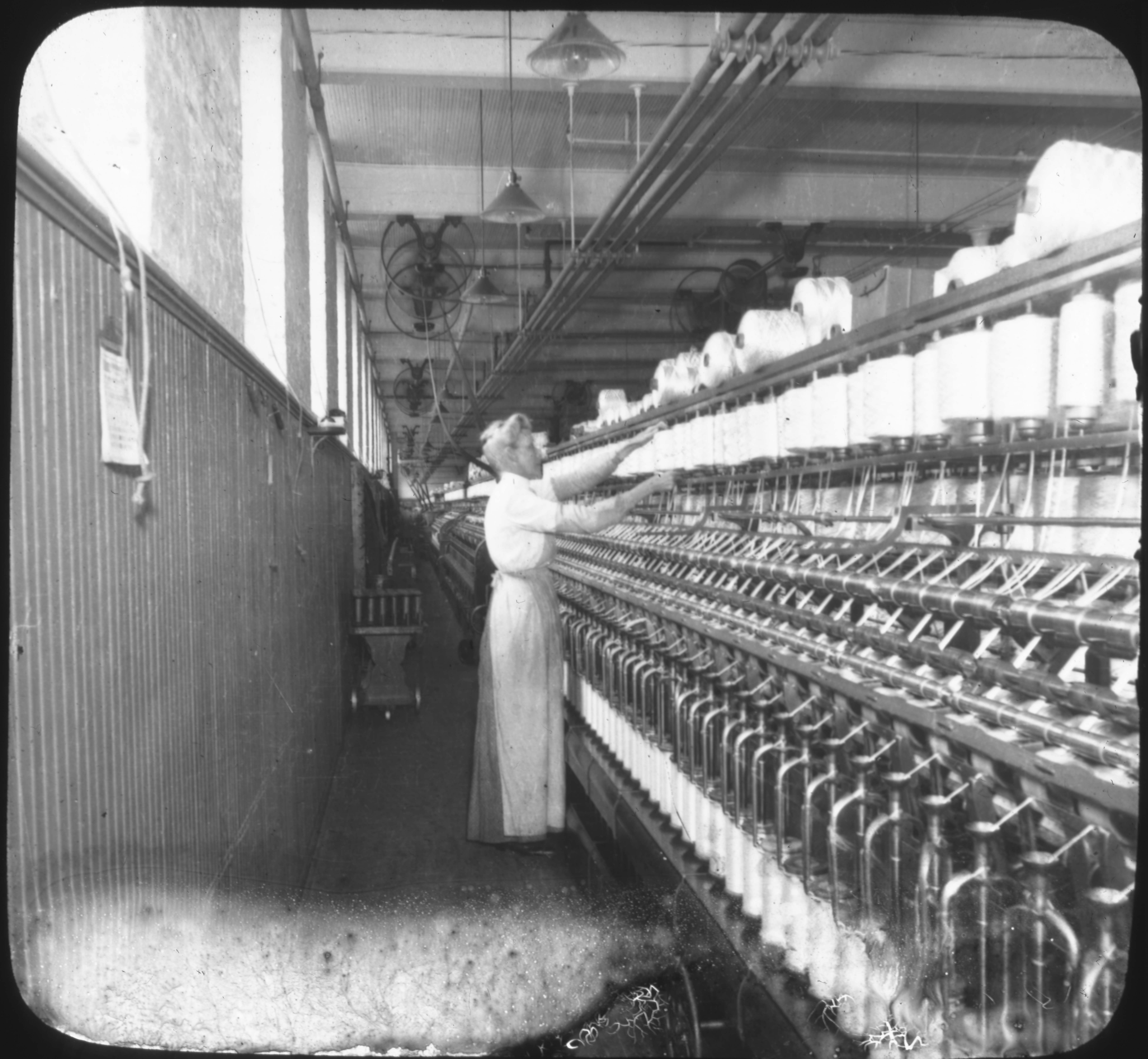 Spinning-Silk Industry, So. Manchester, Conn.