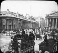 The Bank of England, London, England.