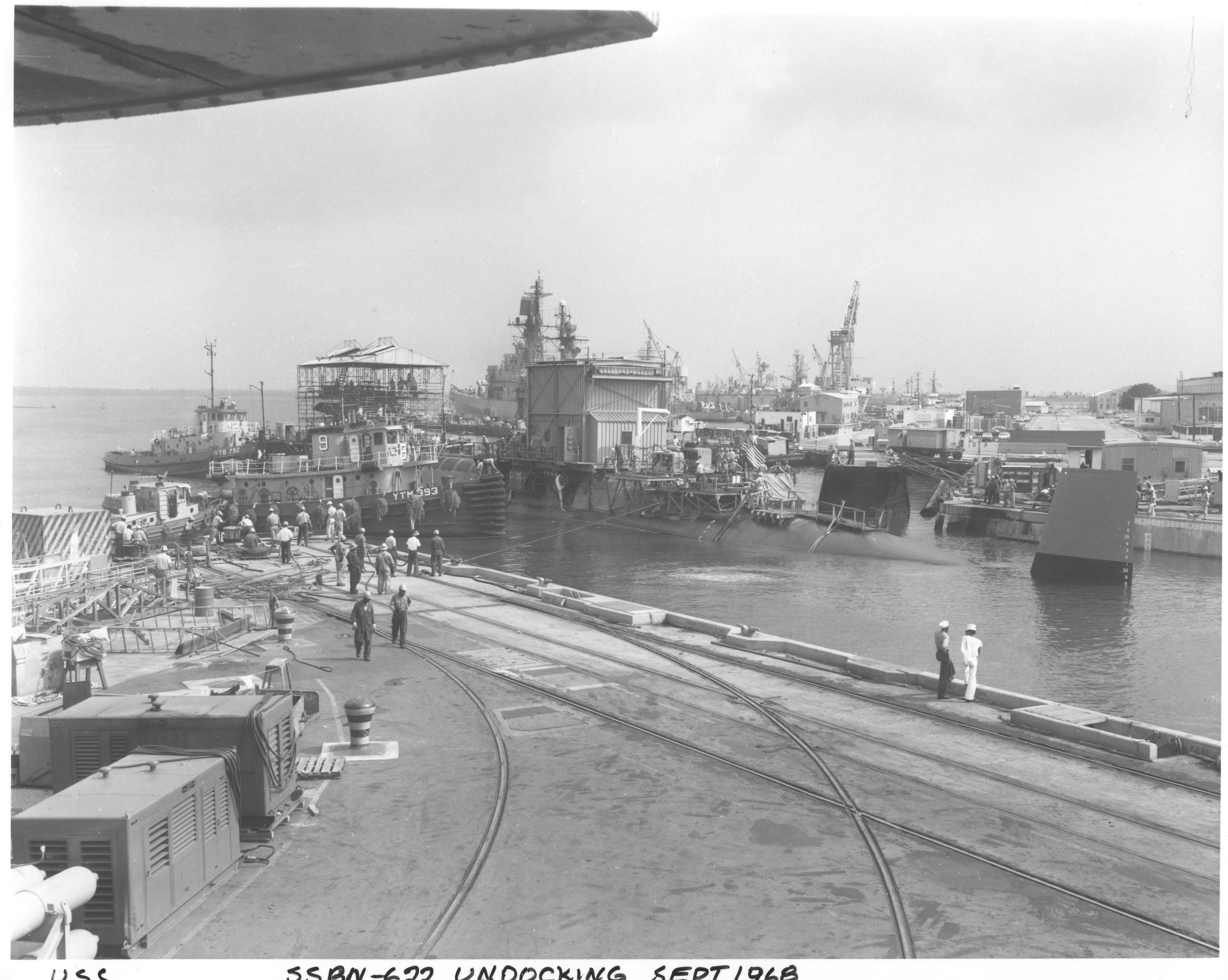 USS SSBN-622