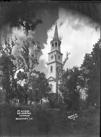 St. Helena Episcopal Church Steeple, Beaufort S.C.