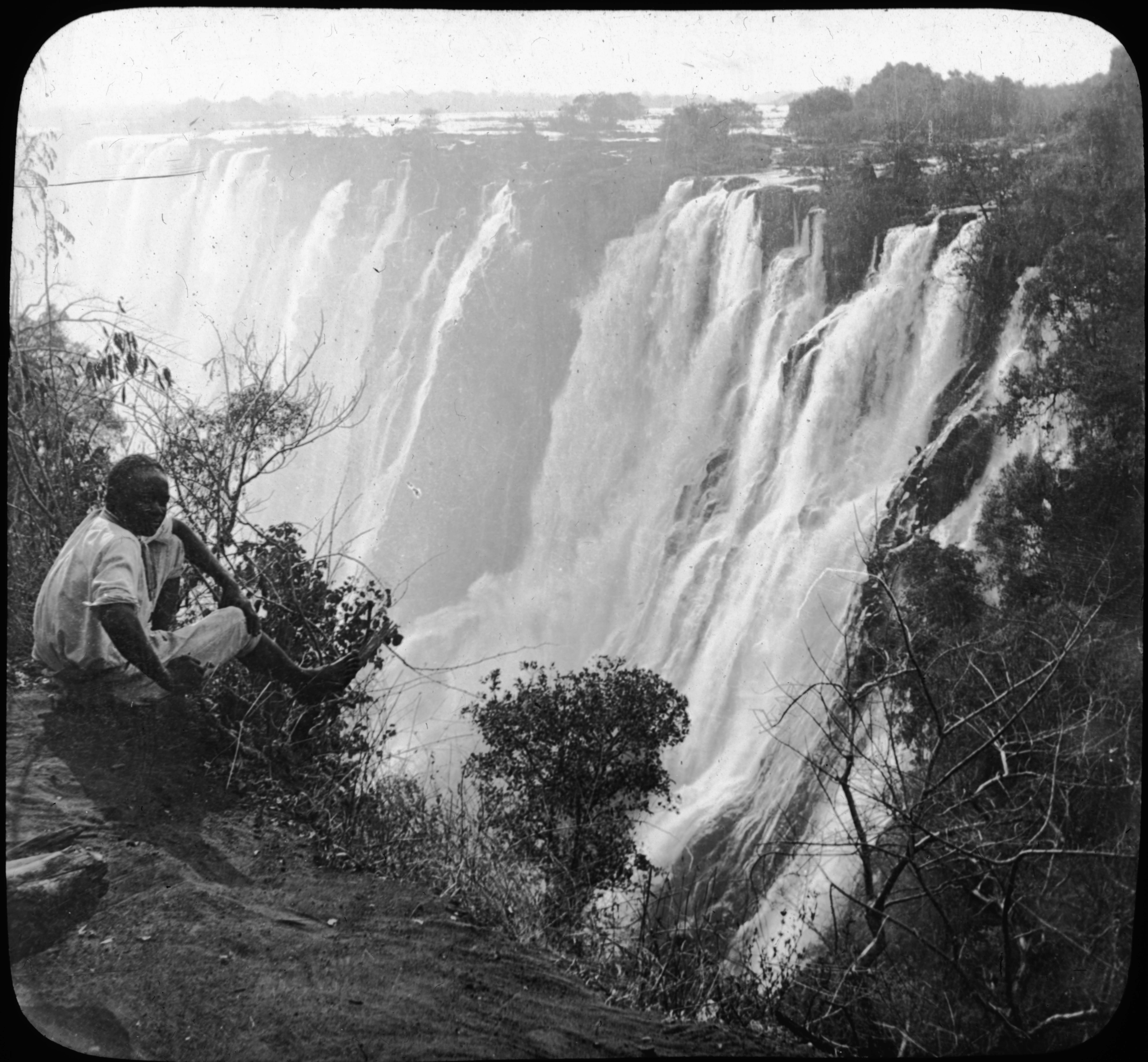 Victoria Falls, Rhodesia, Africa.