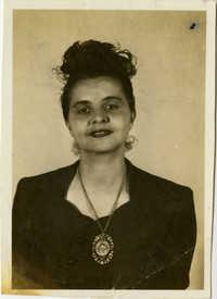 Formal portrait of Miriam DeCosta Seabrook