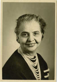 School photograph of Miriam DeCosta Seabrook