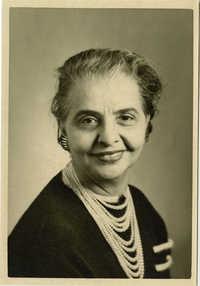 School photograph of Miriam DeCosta Seabrook