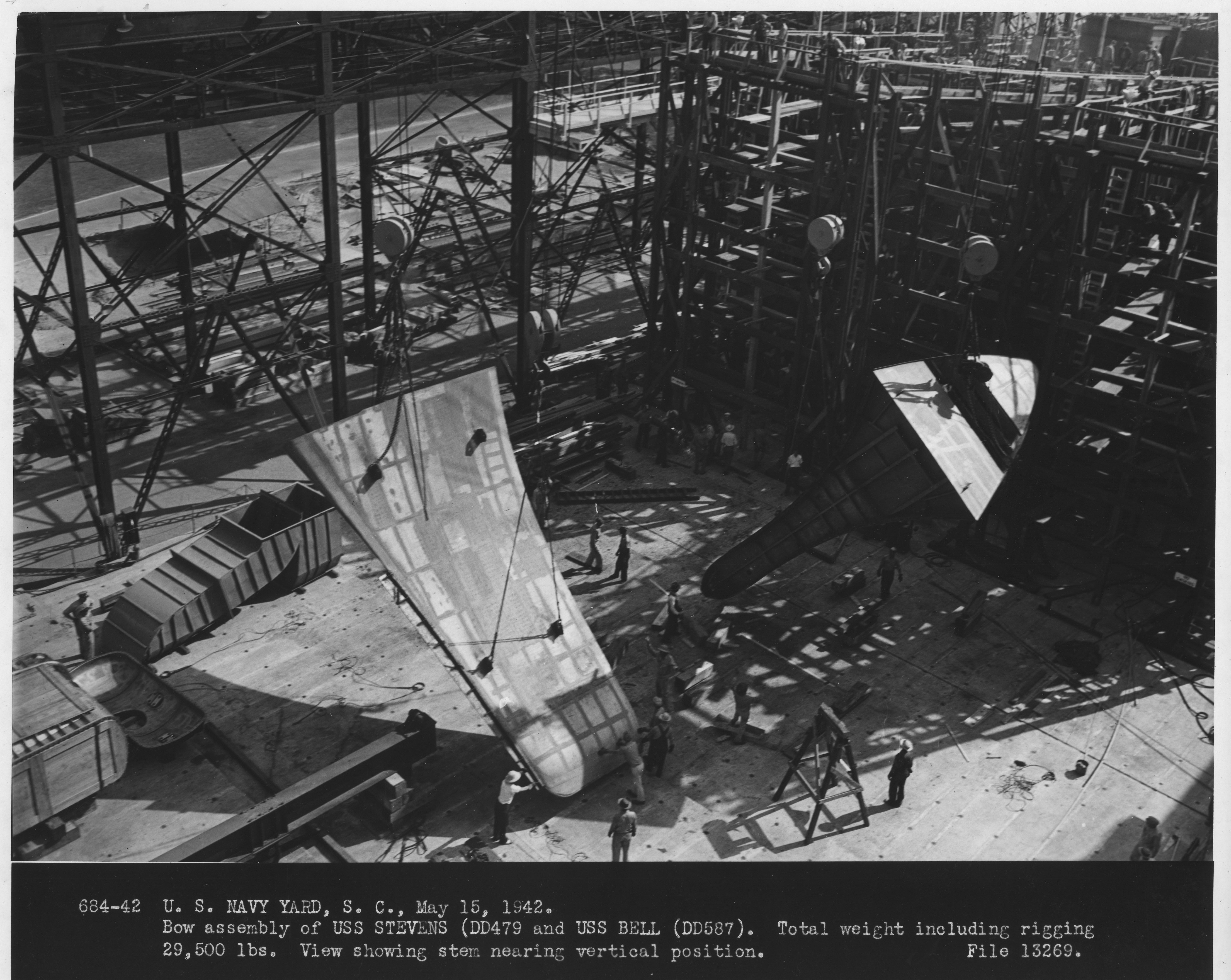 USS Stevens & USS Bell