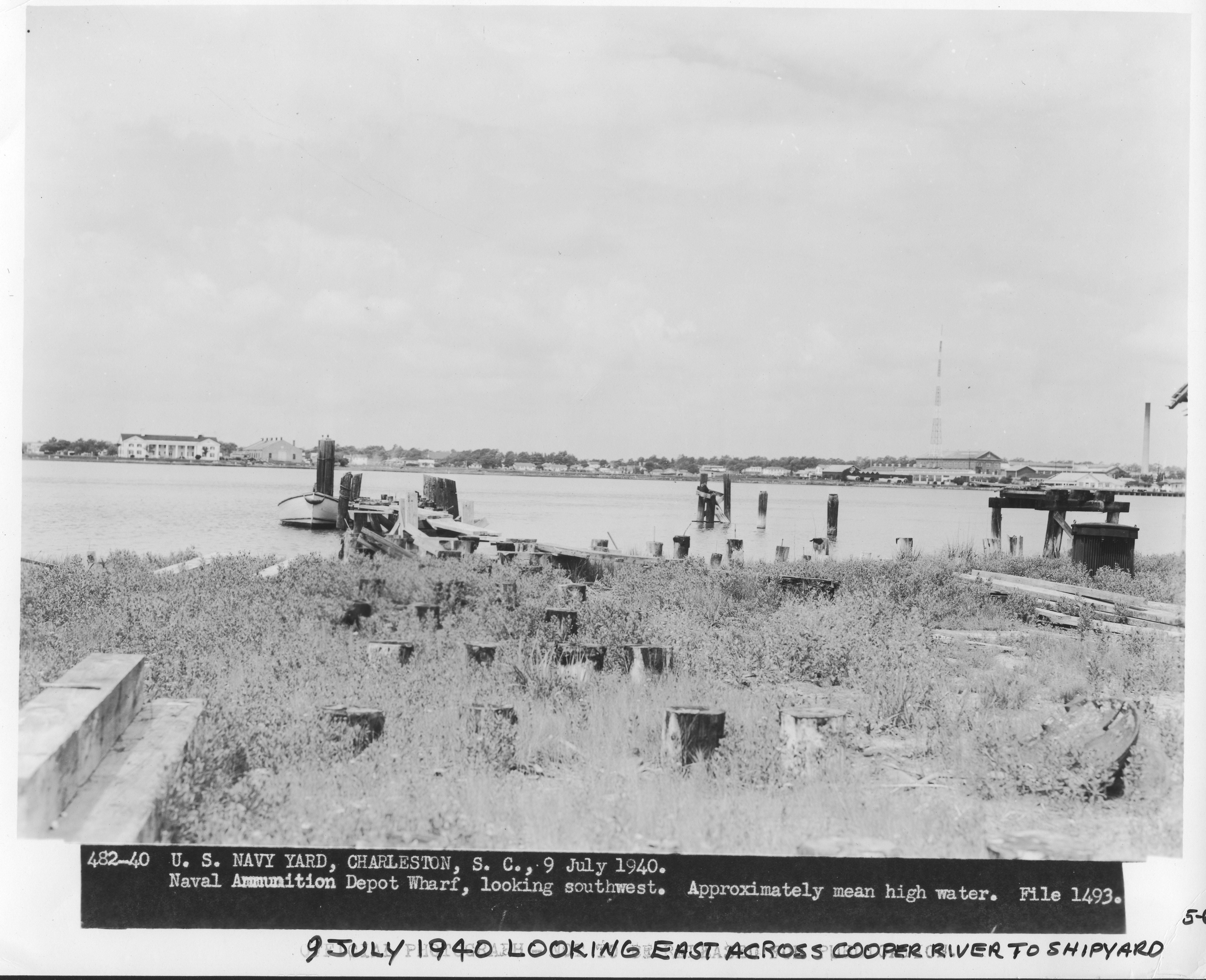 Naval Ammunition Depot Wharf